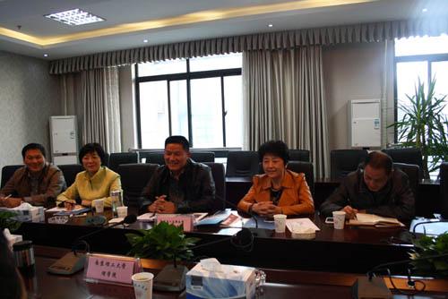 中国人民解放军陆军军官学院来我校调研